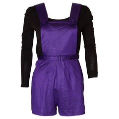 Vintage Purple Playsuit