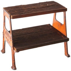 Vintage Railroad Step Stool