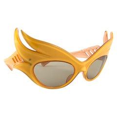 Vintage Rare Alain Mikli Prototype Flaming Phoenix France Sunglasses 1988