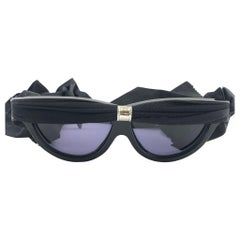 Vintage Rare Alain Mikli Turban Limited Edition Cat Eye France Sunglasses 1987