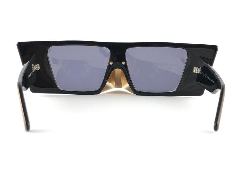 Vintage Rare Collector Alain Mikli AM 88 Nose Guard Avantgarde Sunglasses 1988 For Sale 1