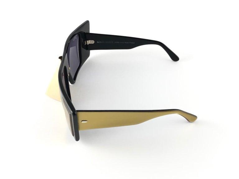 Vintage Rare Collector Alain Mikli AM 88 Nose Guard Avantgarde Sunglasses 1988 For Sale 3