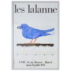 Vintage Rare Les Lalanne Exhibition Poster from Cnac Paris, France, 1975