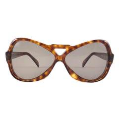 Vintage Rare Menrad 712 Oversized Cut Out 1970 Sunglasses