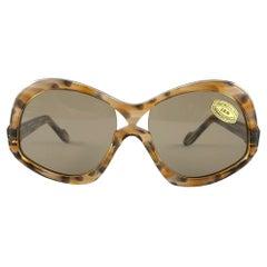 Vintage Rare Neostyle Clavit 175 Oversized 1970 Sunglasses
