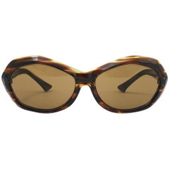 Vintage Rare Pierre Marly Nicky Oversized Avantgarde 1960 Sunglasses