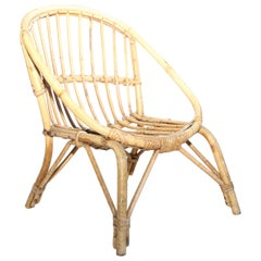 Vintage Rattan Child's Chair