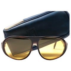 2b24799fe9 Vintage Ray Ban B L Blazer Ambermatic Lenses Sunglasses USA