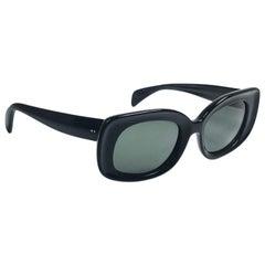 Vintage Ray Ban Buena 1960's Mid Century Black G15 Lenses B&L USA Sunglasses