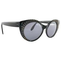 "Vintage Ray Ban "" Fireworks ""  1960's  Mid Century Black  B&L USA Sunglasses"