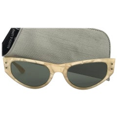 Vintage Ray Ban Playtime Marbled  1960's Mid Century G15 Lenses USA Sunglasses