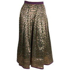 Vintage Regamus London Lame Skirt