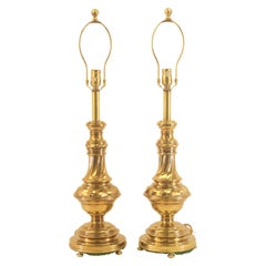 Vintage Rembrandt Brass Lamps
