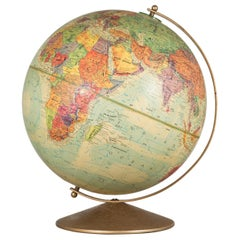 Vintage Replogle World Nation Series Globe, circa 1970