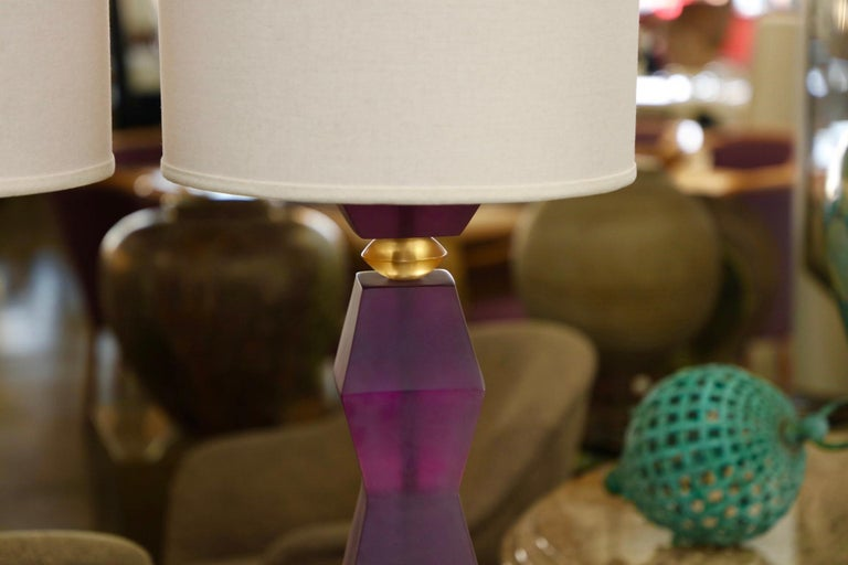 20th Century Vintage Resin Lamps For Sale