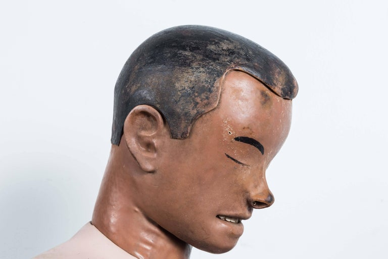 Vintage Resuscitation Male Dummy Training Head In Good Condition For Sale In Santa Monica, CA