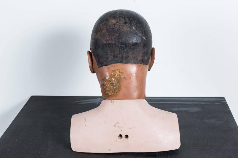20th Century Vintage Resuscitation Male Dummy Training Head For Sale
