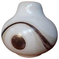 """Vintage Retro Ceramic Vase, 1960s """"The Eye"""""""