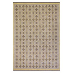 Vintage Double-Sided Midcentury Swedish Flat-Weave