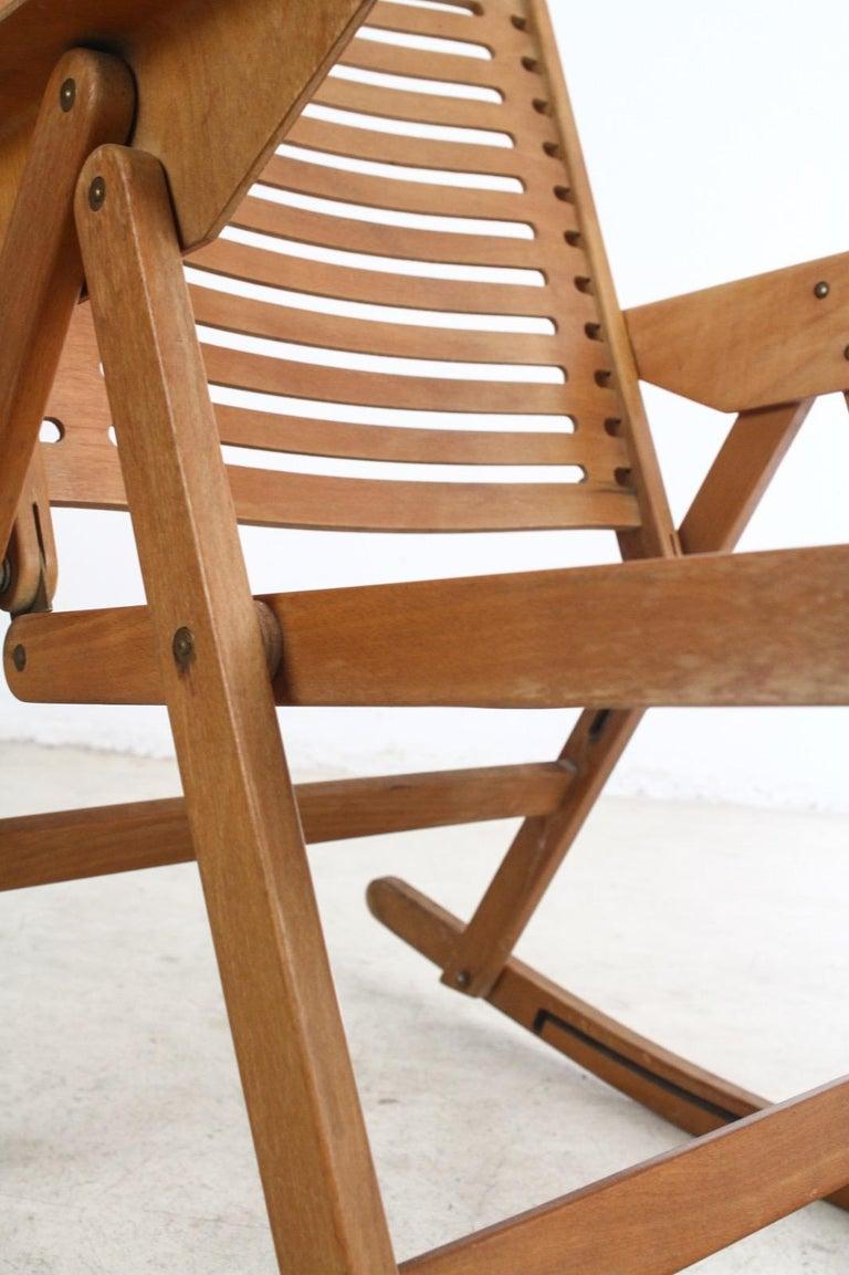 Brilliant Vintage Rex Rocking Chair By Niko Kralj 1950S Andrewgaddart Wooden Chair Designs For Living Room Andrewgaddartcom