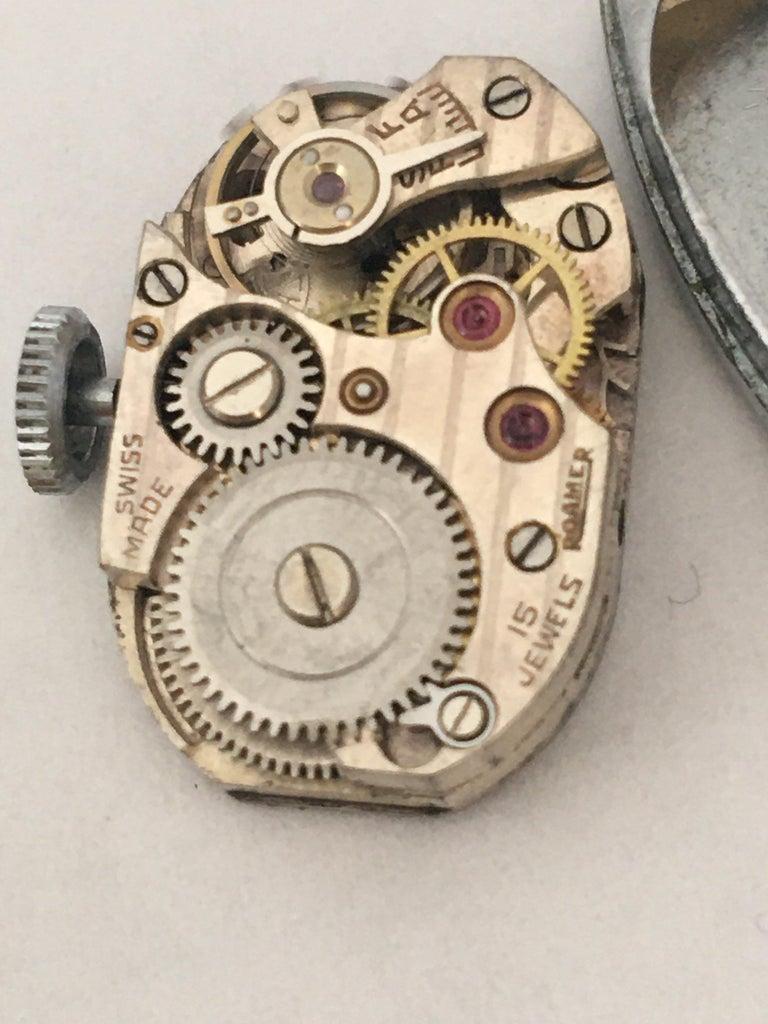 Vintage Roamer Ladies Mechanical Watch For Sale 6