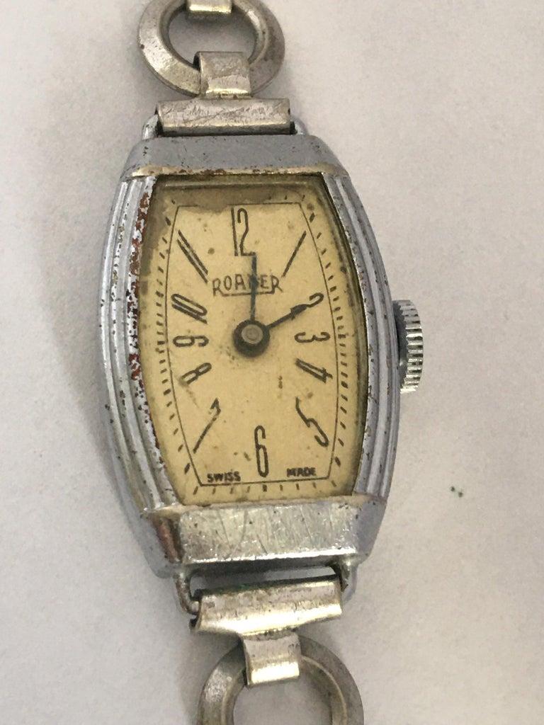 Vintage Roamer Ladies Mechanical Watch For Sale 9