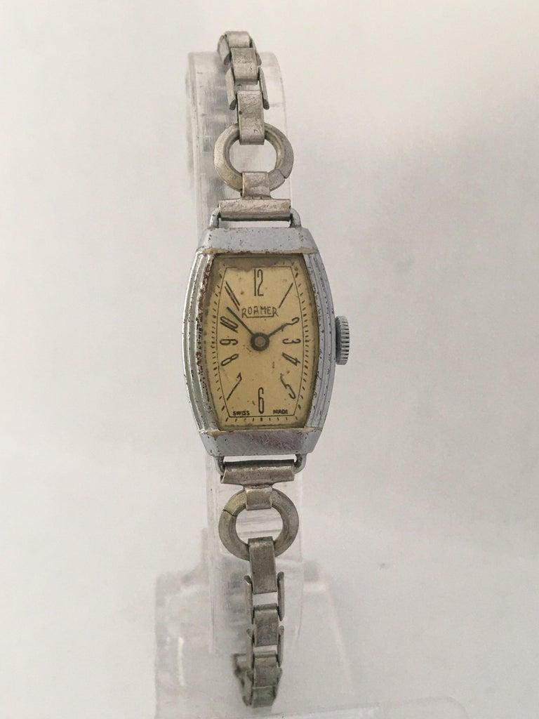 Vintage Roamer Ladies Mechanical Watch For Sale 10