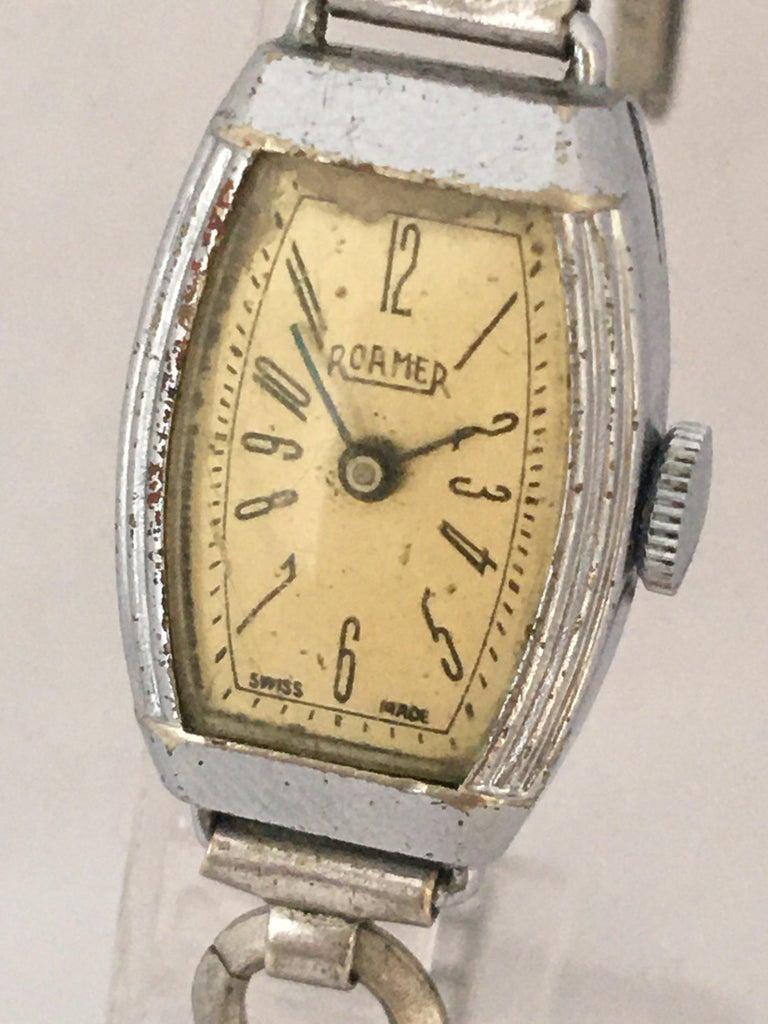 Women's Vintage Roamer Ladies Mechanical Watch For Sale