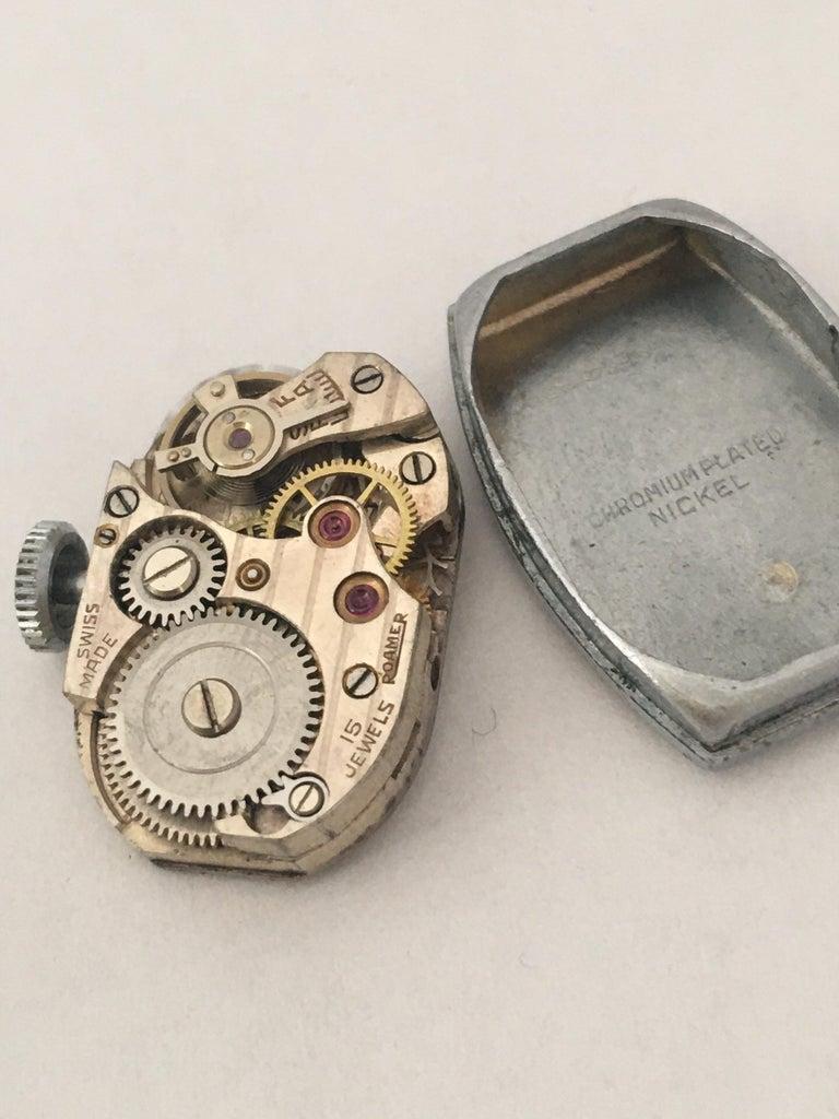 Vintage Roamer Ladies Mechanical Watch For Sale 5