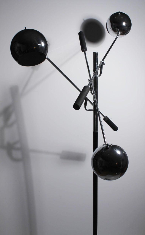 Vintage Robert Sonneman Triennale Atomic Orbiter Floor Lamp For Sale At 1stdibs