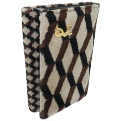 Vintage Roberta di Camerino Velvet & Leather Wallet