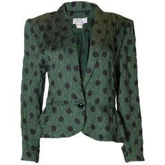 Vintage Roland Klein Silk Jacket 1970s