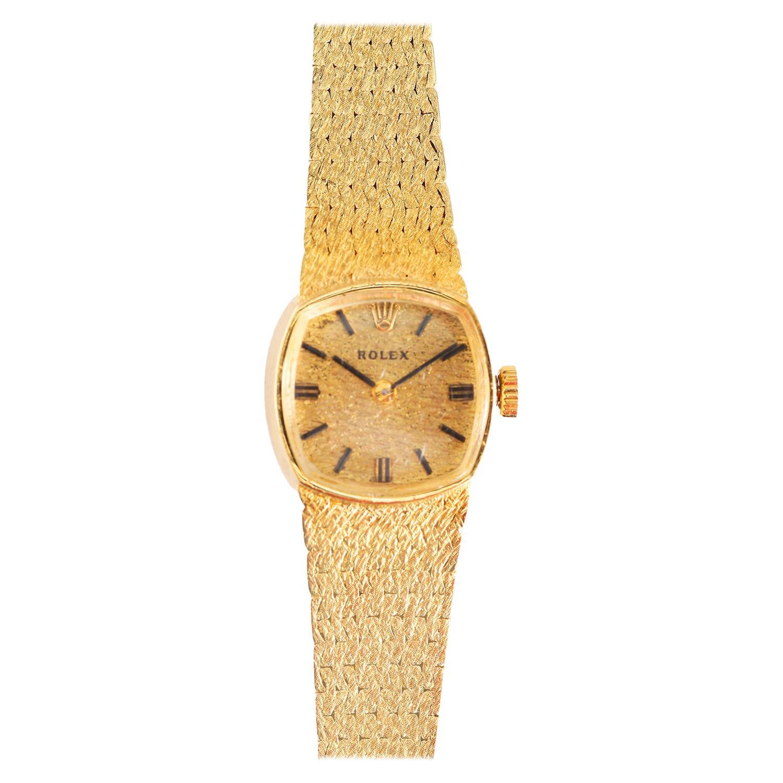 Vintage Rolex 14k Yellow Gold Rolex Watch Ref. 8214