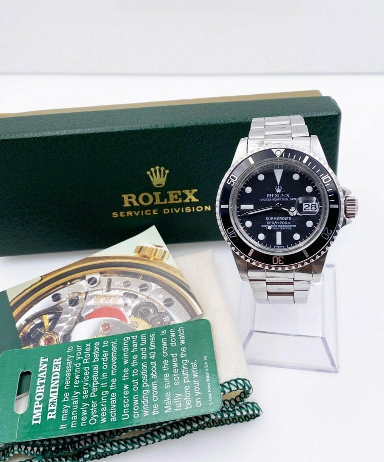 Style Number: 1680  Serial: 5865***  Year: 1978  Model: Submariner  Case Material: Stainless Steel  Bezel: Stainless Steel  Dial: Black  Face: Acrylic  Case Size: 40mm  Includes:  -Rolex Service Box -Certified Appraisal  -1 Year Warranty