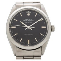 Vintage Rolex Air King Reference 5500 Stainless Steel Watch, 1967