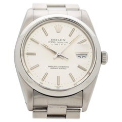 Vintage Rolex Date Automatic Reference 15000 in Stainless Steel, 1984