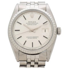 Vintage Rolex Datejust Reference 1603 Stainless Steel Watch, 1968