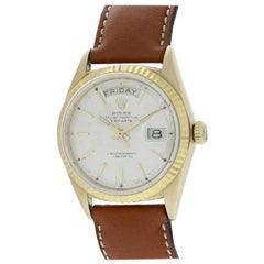 Vintage Rolex Day Date President 1802 Semi Bubble Back Men's Watch