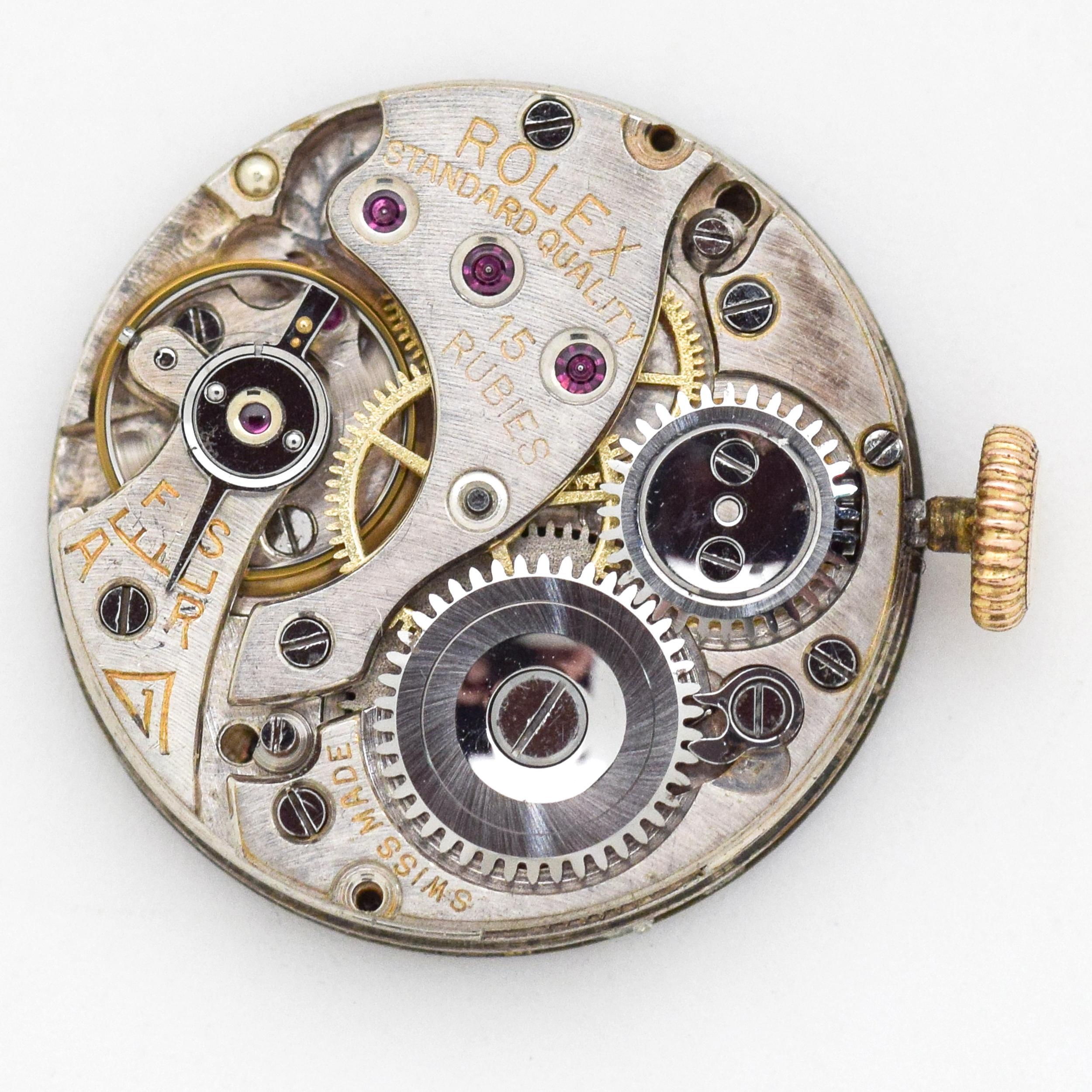92580dd6d1f Vintage Rolex Ladies 9 Karat Rose Gold Watch, 1910s For Sale at 1stdibs