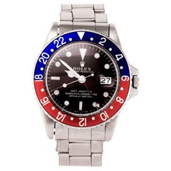 Vintage Rolex Men's GMT Master Stainless Steel '1675'