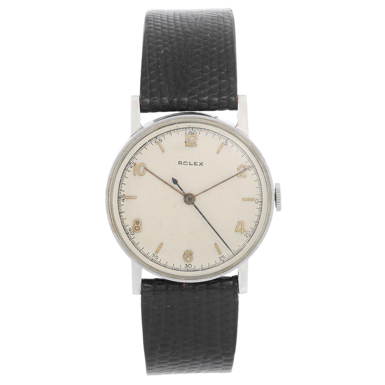 Vintage Rolex Men's Stainless Steel Watch