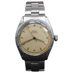 Vintage Rolex Oyster 6223 Pink Dial Stainless Steel Extremely Rare