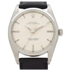 Vintage Rolex Oyster Perpetual Reference 1018 Stainless Steel Watch, 1968