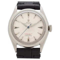 Vintage Rolex Oyster Perpetual Reference 6084 Stainless Steel Watch, 1951