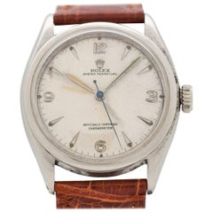 Vintage Rolex Oyster Perpetual Reference 6084 Stainless Steel Watch, 1952