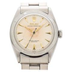 Vintage Rolex Auster Perpetual Reference 6085 aus Edelstahl 1957
