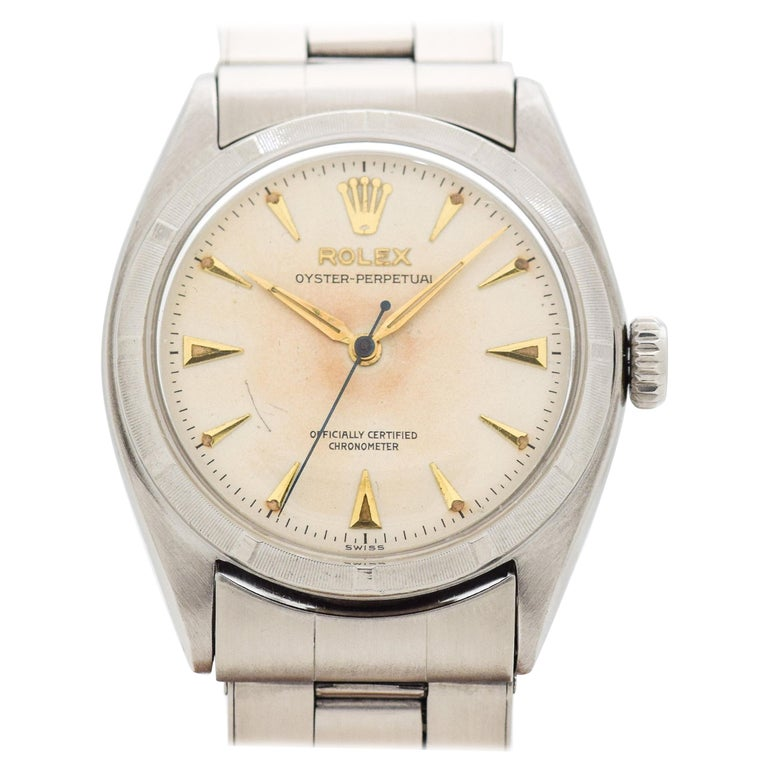 efbf0bac851 Vintage Rolex Oyster Perpetual Reference 6085 in Stainless Steel, 1957 For  Sale