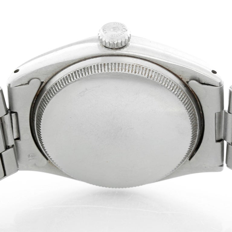 Vintage Rolex Oyster Perpetual Stainless Steel Men's Watch Ref. 6084 For Sale 1