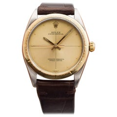 Vintage Rolex Oyster Perpetual Zephyr Two-Tone Watch, 1965