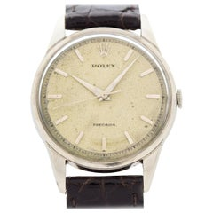 Vintage Rolex Precision Reference 8896 Stainless Steel Watch, 1950s